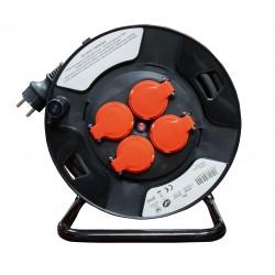 Enrouleur Electrique Chantier L.25m 3G 2.5mm2 H07RN-F