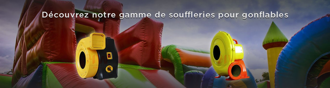 souffleries gonflables